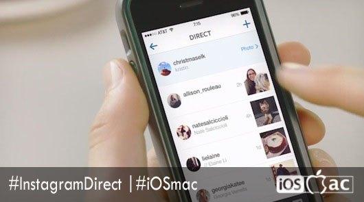 Instagram-Direct-iosmac