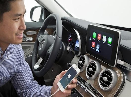 Mercedes-Benz muestra la integración de CarPlay-iosmac-2