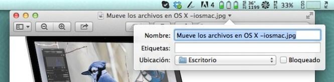 Mueve los archivos en OS X -iosmac-1