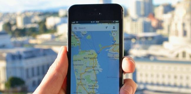 -google-maps-iphone-iosmac-Google Maps 3.0 disponible en la App store, google acaba de actualizar su software de mapas y navegación por satélite para iPhone. La nueva versión 3.0