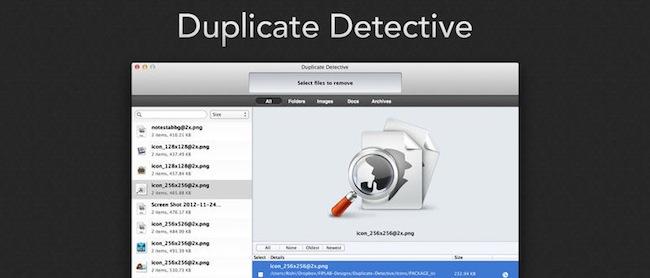 Duplicate Detective-archivos duplicados-iosmac