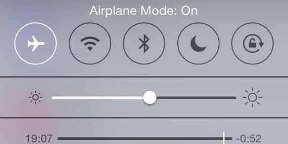 Flight Mode On