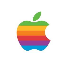 Logo Apple Arco iris