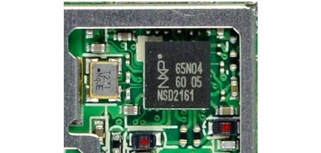 Chips NXP PN65 NFC de Nexus 7