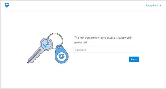 Dropbox Pro Password Links