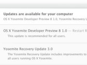 OS X Yosemite Developer Preview 8 y la Beta Publica 3 disponible
