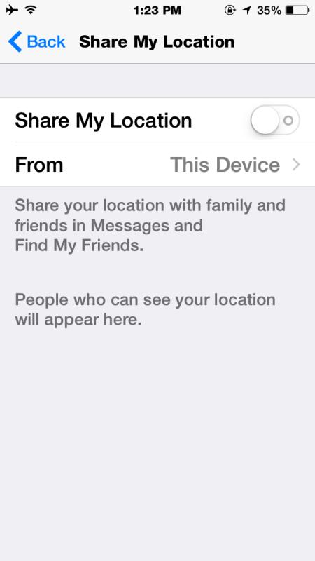compartir localizacion