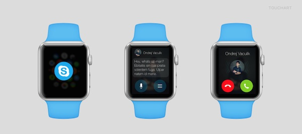 Apple Watch Skype