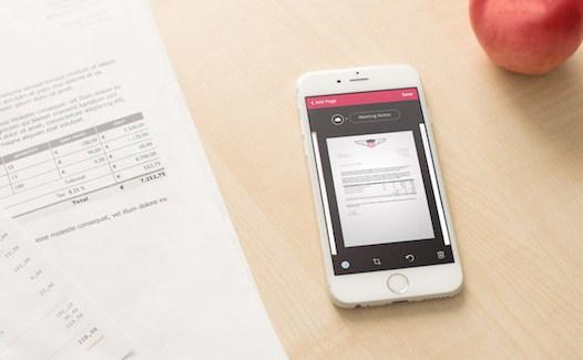 Scanbot para iOS, escanea documentos y mucho mas…