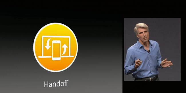 iOS 9 mejora la función Handoff