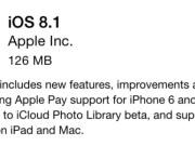 iOS 8.1 disponible - iosmac