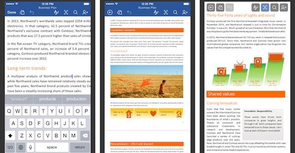 Microsoft Word para iphone - iosmac