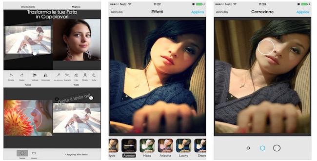 Photo Studio editor de fotos iPhone - iosmac