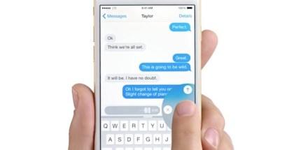 Voice Text el nuevo anuncio de Apple de los nuevos iPhone 6