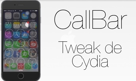 CallBar disponible para jailbreak con iOS 8