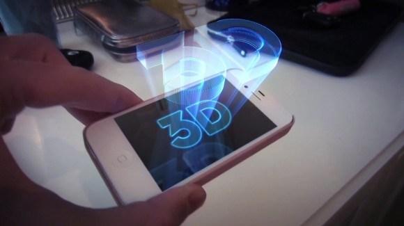 Nueva patente de Apple: ¿una pantalla holográfica?
