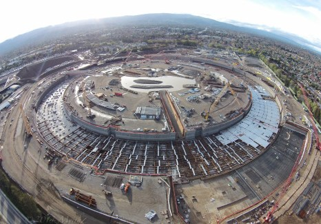 Nuevo video del Apple Campus 2