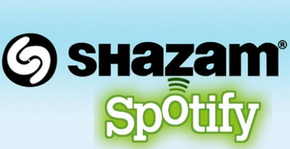 La nueva actualización de Shazam y su vinculación con Spotify
