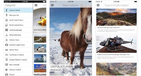Guía de Islandia-app store
