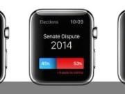 Instagram-Uber- -Foursquare -Conceptos Apple Watch