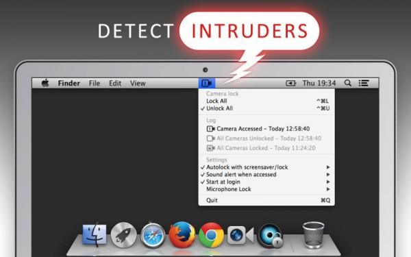 Bloquear el acceso a la cámara del Mac