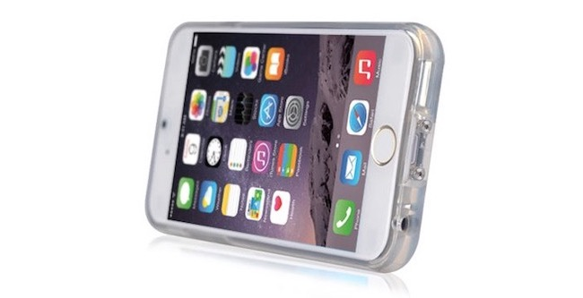 Funda iPhone 6 Plus con carga inalámbrica mobilefun