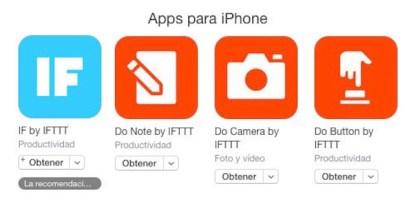 IFTTT simplifica todo y lanza tres aplicaciones separadas