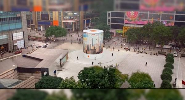 """""""Making of"""" de la inauguración de la Apple Store de Jiefangbei"""