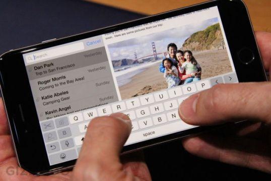 iPhone 6 plus teclado