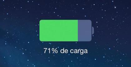mostrar porcentaje batería en iphone