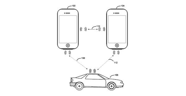 patente-Apple-apertura-puertas-coche