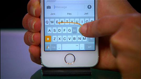 Teclado de terceros iPhone