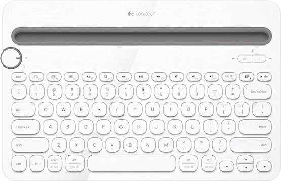 Logitech K480-blanco