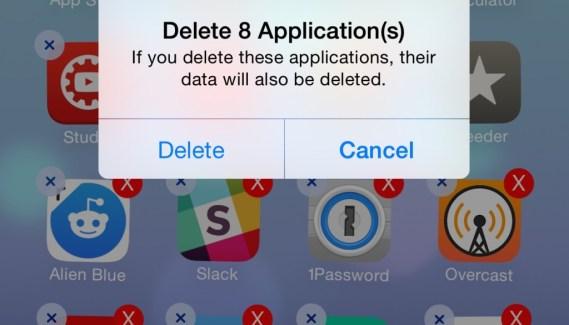 Multidelete: Elimina varias aplicaciones de una vez [Cydia]