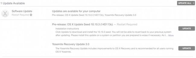 OS X 10.10.3 Yosemite Beta 5