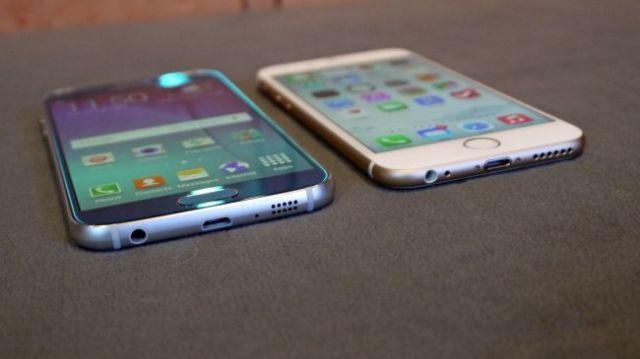 iPhone 6 comparativa del Galaxy S6