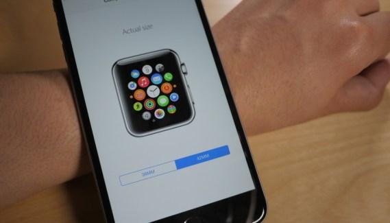 Apple nos ayuda con su app a elegir tamaño de Apple Watch