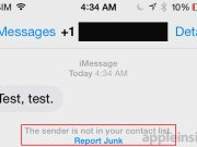 app de mensajes spam 2 ios 8.3 beta