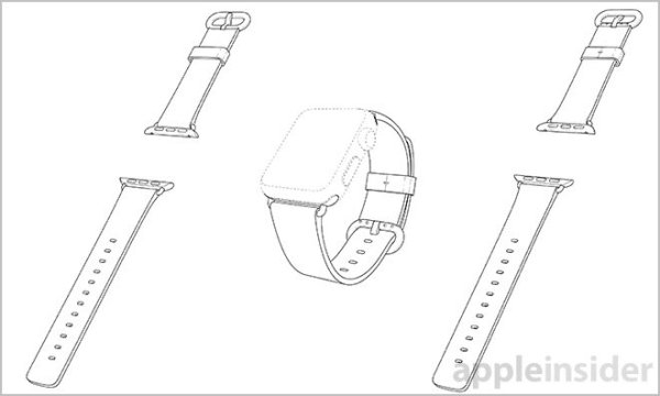 Apple watch patente correa