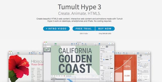 Crea animaciones HTML5 con Hype 3