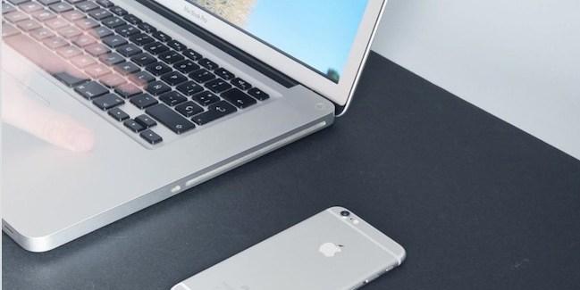 iPhone 6 Plus - macbook pro