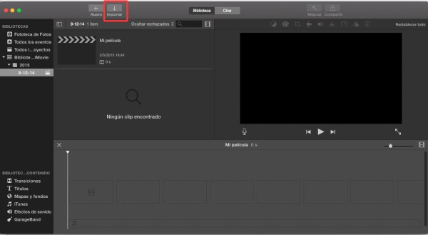 Añade texto desde iMovie