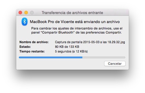 How To Share Files By BlueTooth Between Macs