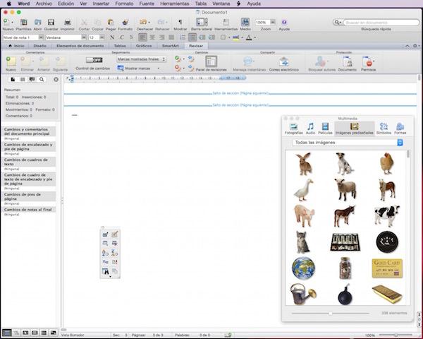 Microsoft Word (para Mac)