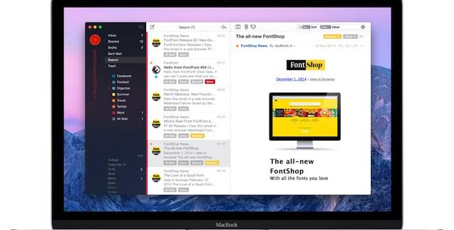 AirMail 2 un gestor de correos muy eficaz