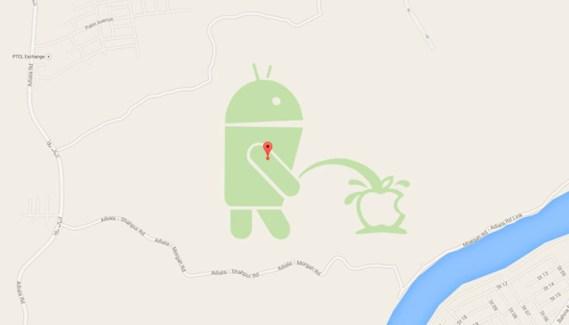 Google suspende Map Maker tras la broma contra Apple