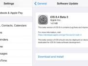 ios 8.4 beta 3