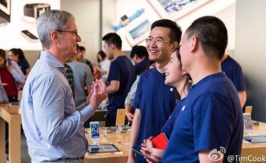 Tim Cook: Apple Watch llegará en Junio a China