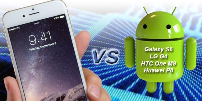 ¿Cuál es el mayor rival del iPhone 6? [ENCUESTA]