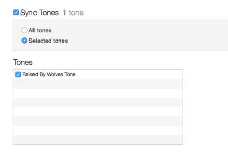 sync tonos
